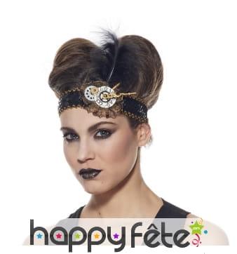 Bandeau de tête steampunk