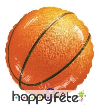 Ballon en forme de ballon de basketball