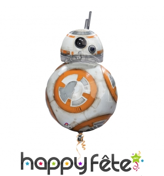 Ballon en forme de BB8, Star Wars