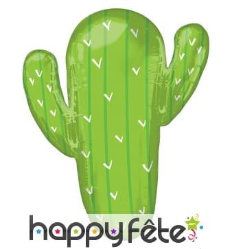 Ballon en forme de cactus, 78cm