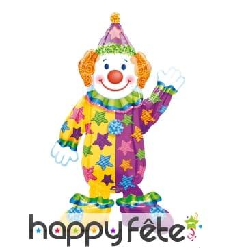 Ballon en forme de clown