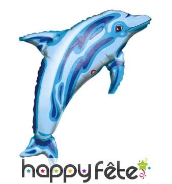 Ballon en forme de dauphin