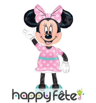 Ballon en forme de Minnie Mouse 132cm