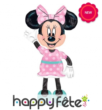 Ballon en forme de Minnie Mouse 137cm