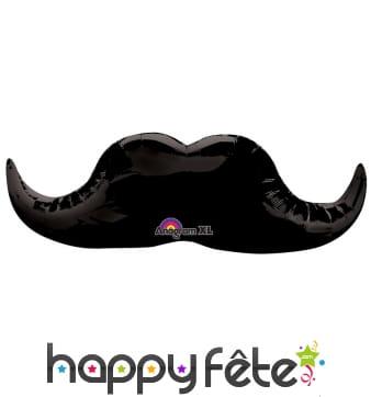 Ballon en forme de moustache