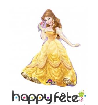 Ballon en forme de princesse Belle de 33cm