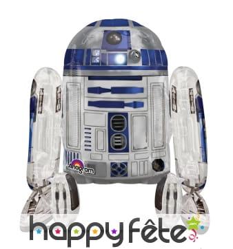 Ballon en forme de R2D2, Star Wars