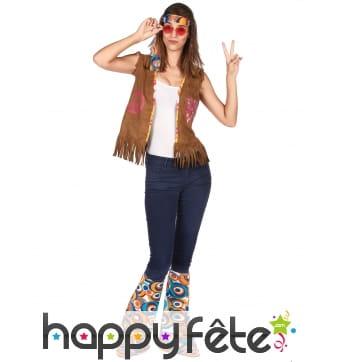 Bandeau et jambières style hippie