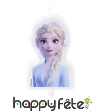 Bougie Elsa La Reine des Neiges 2 de 7,5 cm