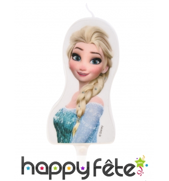 Bougie Elsa La Reine des Neiges de 7,5cm