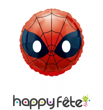 Ballon émoji tête de Spiderman, 23cm