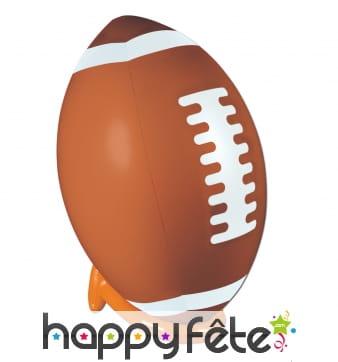 Ballon Football Américain Et Tee Gonflable