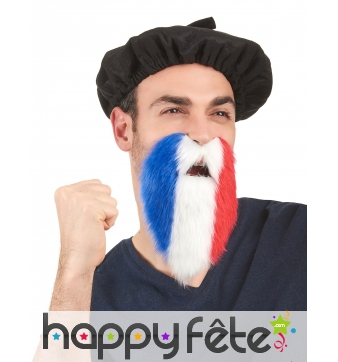 Barbe France adhésive