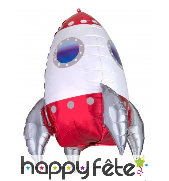Ballon fusée de 55cm