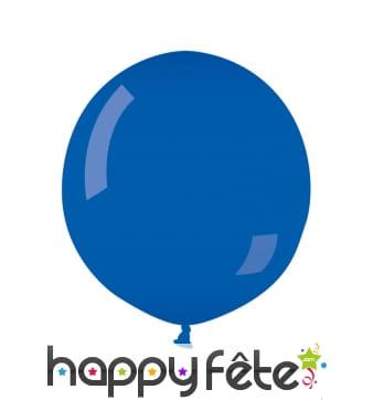 Ballon géant bleu moyen de 64cm