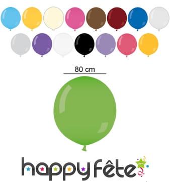 Ballon géant rond de 80 cm