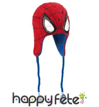 Bonnet haut de tête de Spider-Man