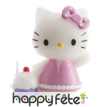 Bougie Hello Kitty décorative