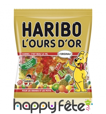 Bonbons Haribo L'ours d'Or