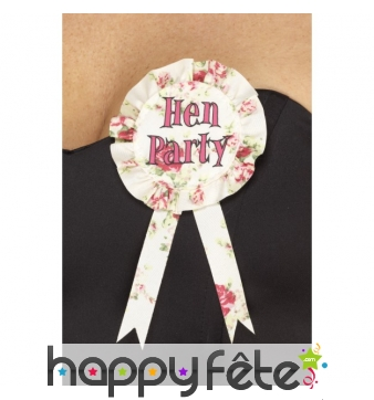 Badge Hen Party Vintage