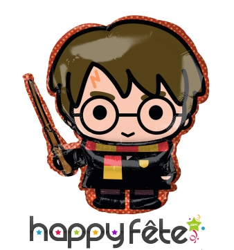 Ballon Harry Potter cartoon en aluminium