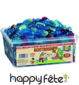 Bonbon haribo schtroumpfs