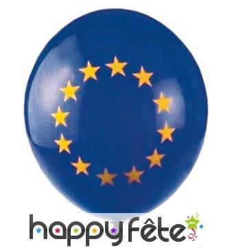 Ballons imprimé Europe, par 5