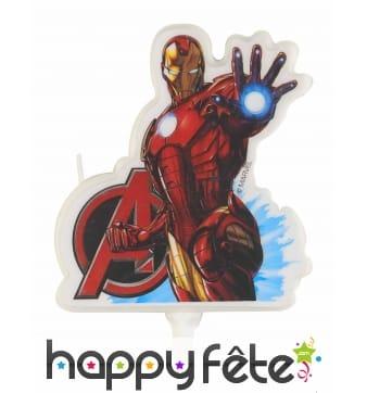 Bougie Iron Man, Avengers de 9cm