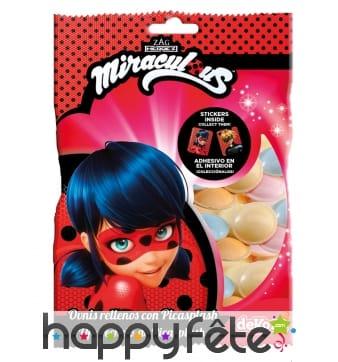 Bonbons Ladybug avec stickers, 246g
