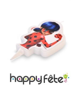 Bougie Ladybug de 7,5 cm