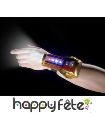 Bracelet lumineux de super-héros