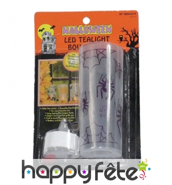 Bougeoir led Halloween