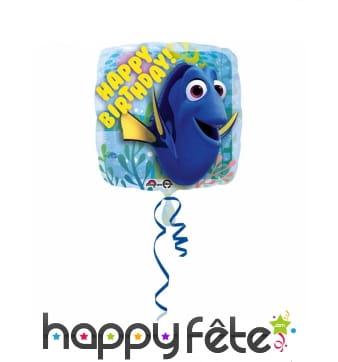 Ballon Le monde de Dory Happy Birthday