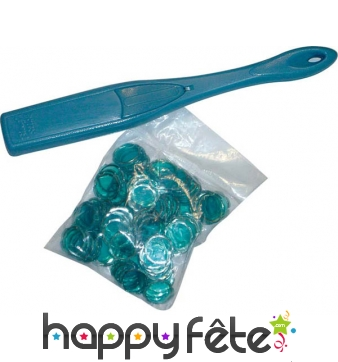 Baton magnetique avec pions aimantes pour loto