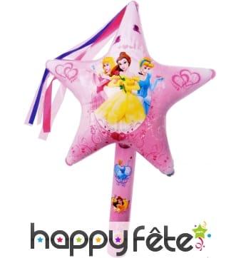 Baguette magique disney princess gonflable