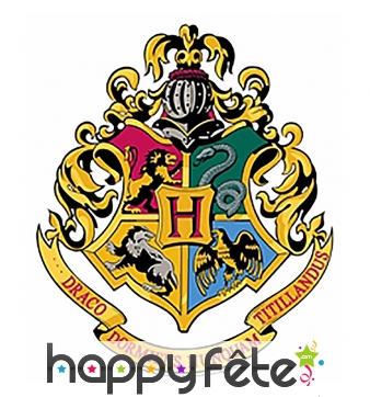 Blason mural des maisons Poudlard, Harry Potter