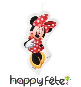 Bougie Minnie de 9cm