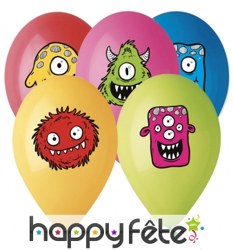 Ballons Monster Friends de 30cm