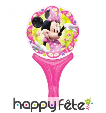 Ballon Minnie Mouse de 15 x 30cm