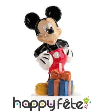 Bougie Mickey Mouse de 9cm