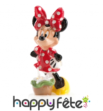 Bougie Minnie Mouse de 9cm