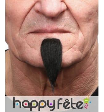 Barbichette noire