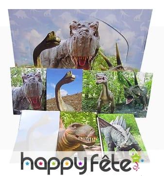 Bloc note avec couverture dinosaure