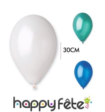 Ballon nacré de 30cm de diamètre
