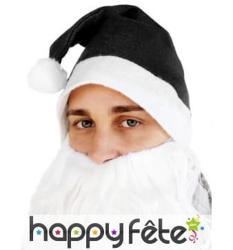 Bonnet noir de Père-Noël