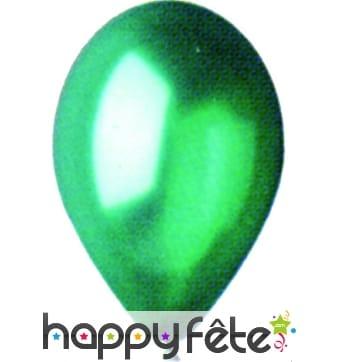 Ballons nacrés vert par 100