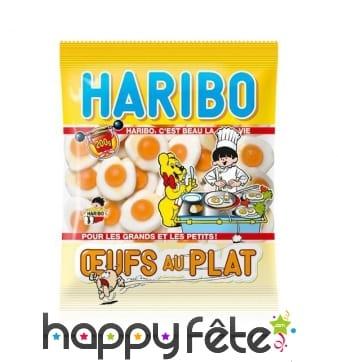 Bonbons Oeufs au plat, Haribo
