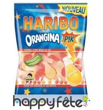 Bonbons orangina pik, Haribo
