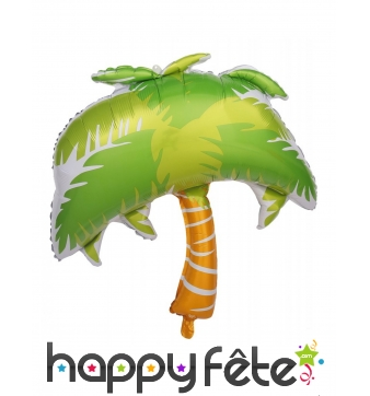 Ballon palmier de 70 cm, alu