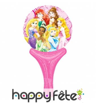 Ballon princesses Disney de 15 x 30cm